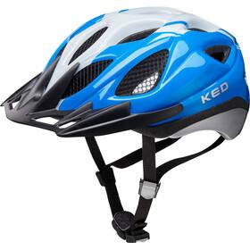 KED Tronus casco per bici blu